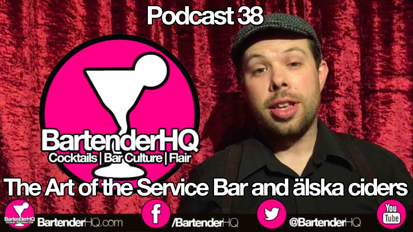 The Art of the Service Bar and älska ciders