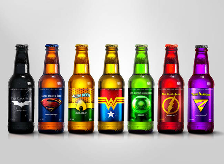 Superhero Drinks – Justice Beers of America