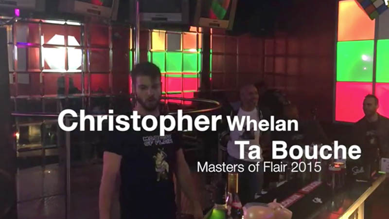 Christopher Whelan at Masters of Flair 2015, Competitor #7