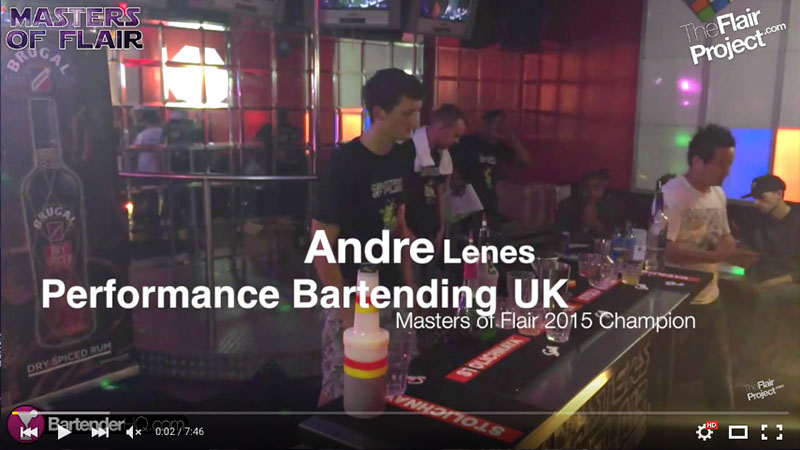 Andre Lenes at Masters of Flair 2015, Competitor #9