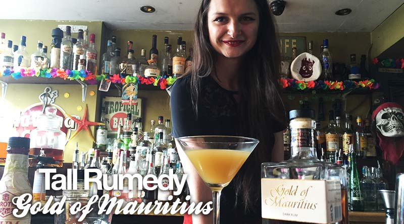 Tall Rumedy Cocktail: Gold of Mauritius