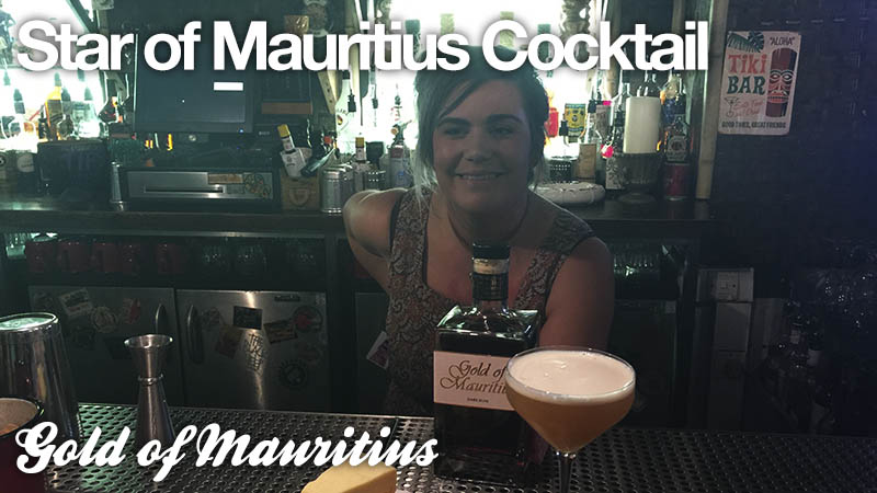 Star of Mauritius Cocktail: Gold of Mauritius