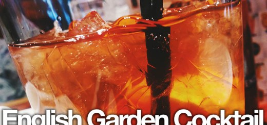 English garden cocktail
