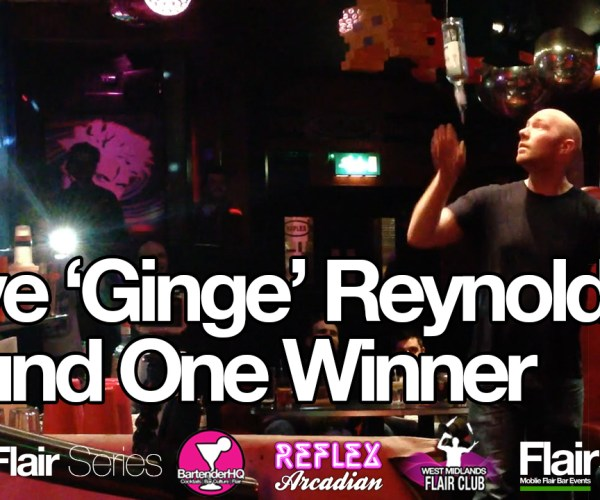 "Central Flair Series – Dave ""Ginge"" Reynolds, Round 1 Champion"