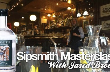Sipsmith masterclass jared brown