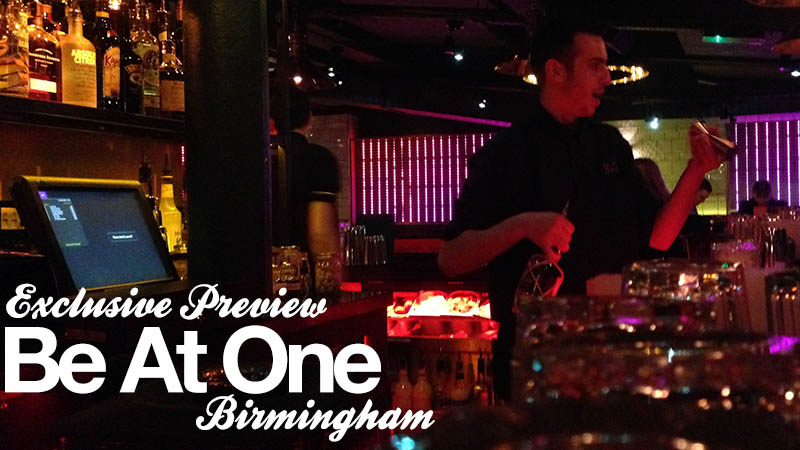 Be At One Birmingham – Birmingham's Bar Scene Just Levelled Up!