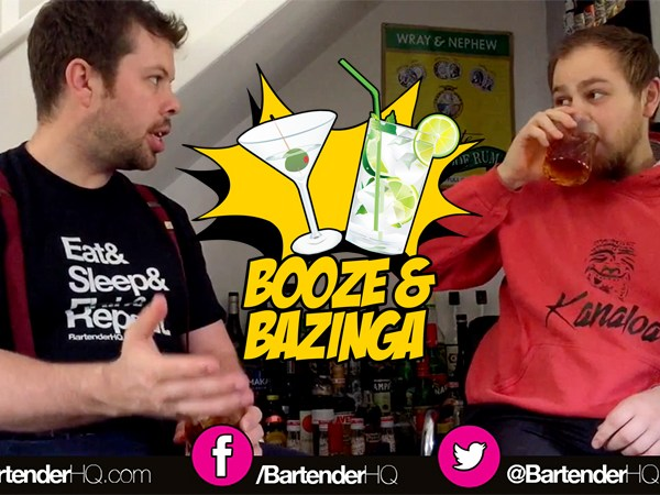 Booze & Bazinga – An intro to our new comics & cocktails show