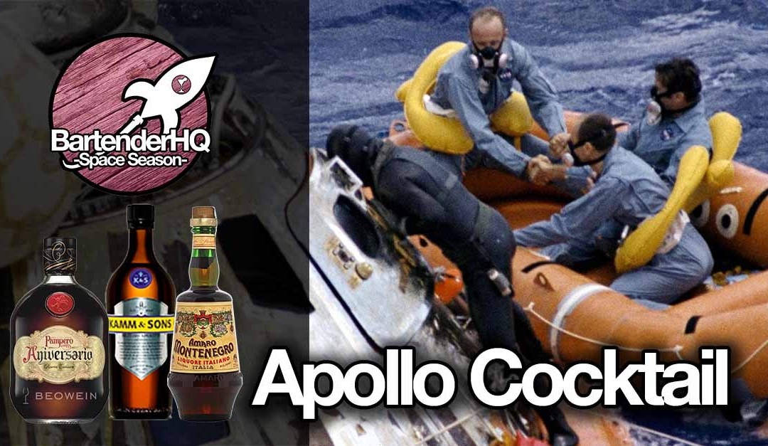Apollo Cocktail | BartenderHQ Space Season
