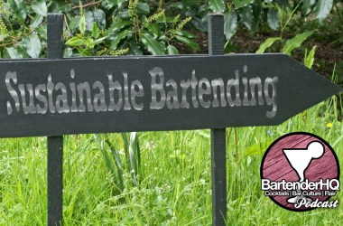 Sustainable Bartending