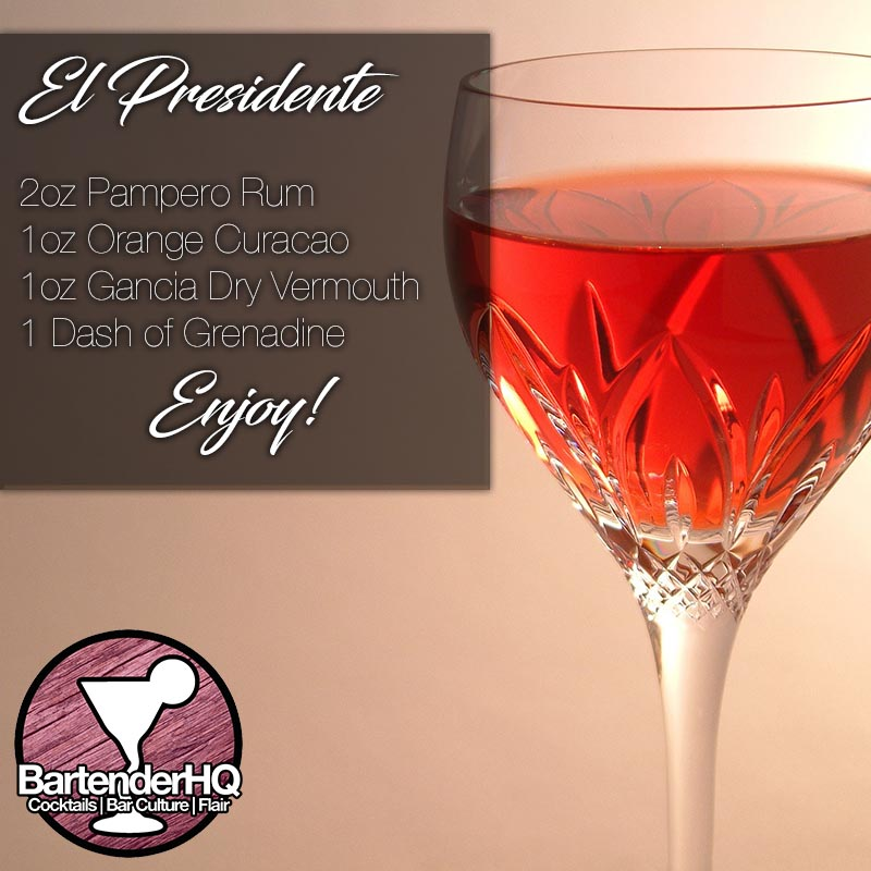 El Presidente Cocktail Recipe