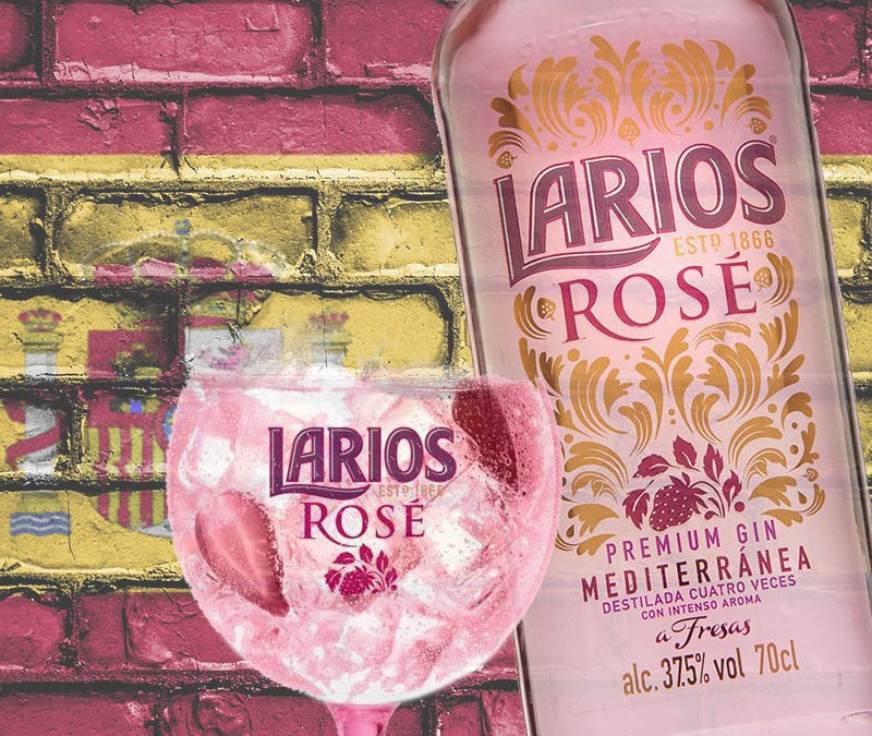 Larios Rose Cocktail – Ginebra a Fresas