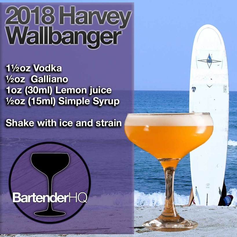 2018 Harvey Wallbanger