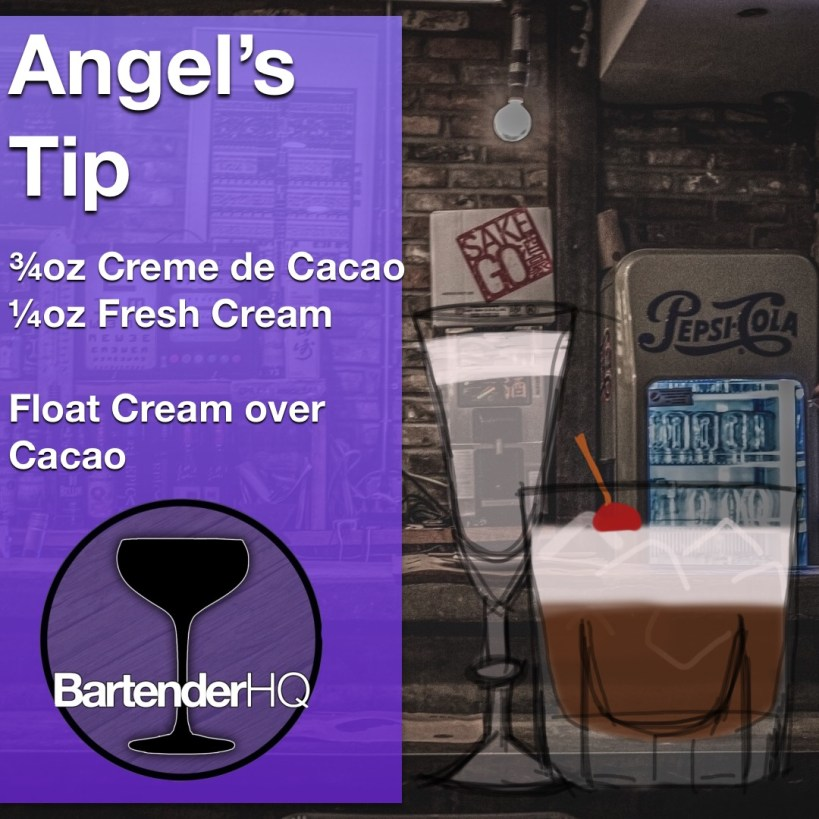 Angel's Tip Cocktail