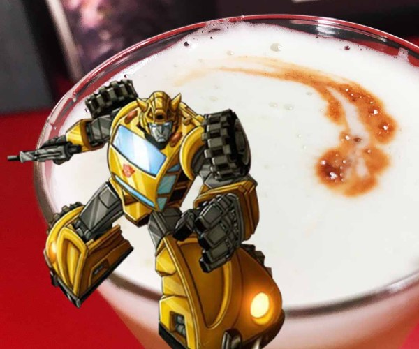 Bumblebee Cocktail Recipe – 80s Transformers Inspired
