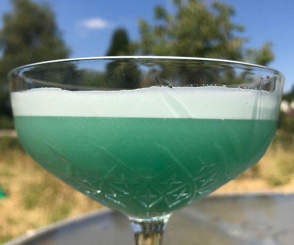 Turquoise Blue Cocktail Recipe – as seen in Cocktail