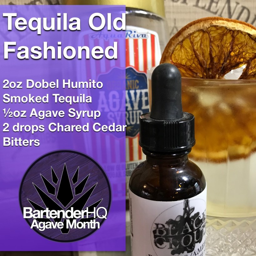 Dobel Humito Smoked Tequila Old Fashioned