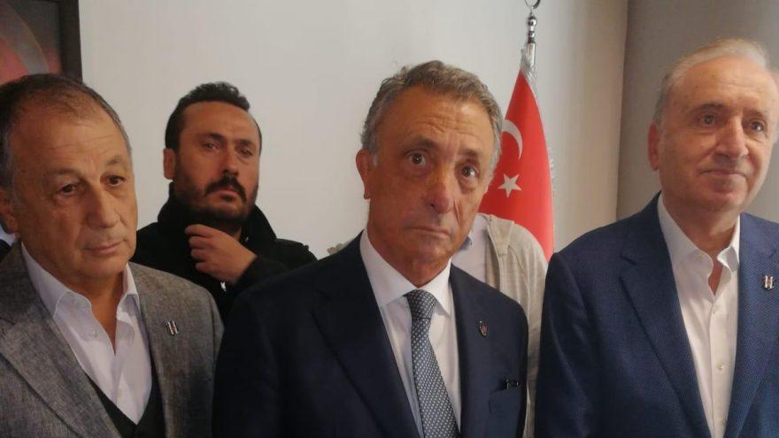 Ahmet Nur Çebi: Beşiktaş'a sahip çıkanların olduğunu görmekten mutlu oldum