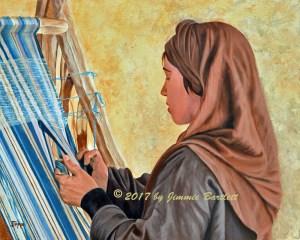 Girl at the Loom WEB2
