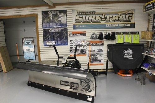 Sure-Trac parts SnowDogg Plow Spreader