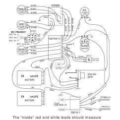 3 Pickup Wiring Diagram Treadmill Motor Diagrams Bartolini Pickups Electronics Ns2tmb Db18 1