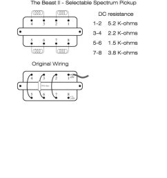 1b beast ii pickup wiring info [ 791 x 1024 Pixel ]