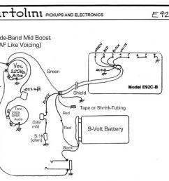 e92 active humbucker wiring [ 1024 x 856 Pixel ]