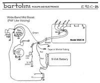Wiring Diagrams - Bartolini Pickups & Electronics