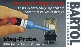 Bartol Mag-Probe Testing automobile solenoid valves