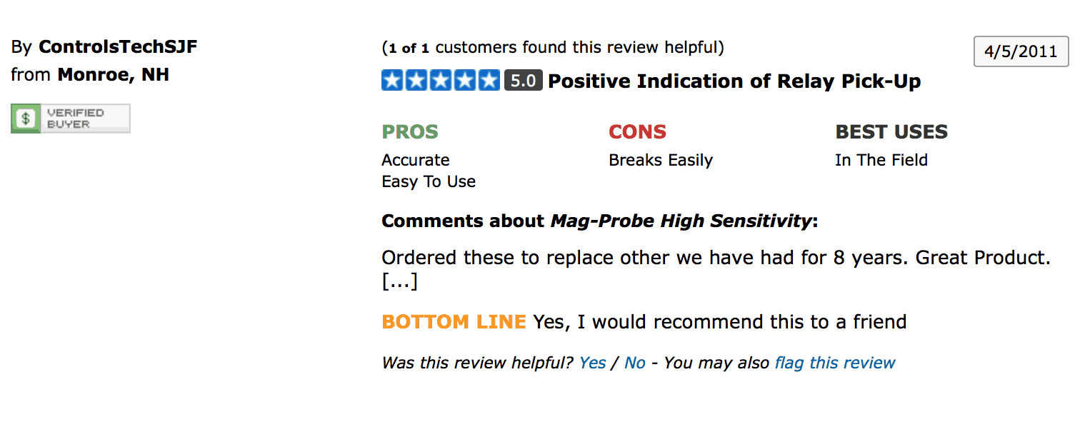 Bartol Mag-Probe Reviews & Email Testimonials – BlogBartol