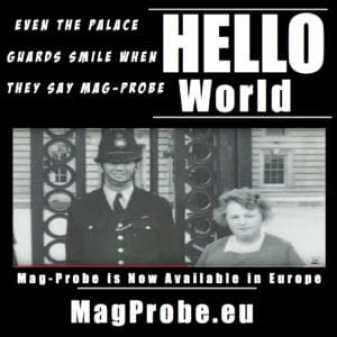 intrinsically Safe Waterproof Mag-Probe