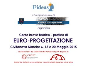 Fideas Srl Scuola di Giurisprudenza UNICAM FESR FSE Unione Europea crediti