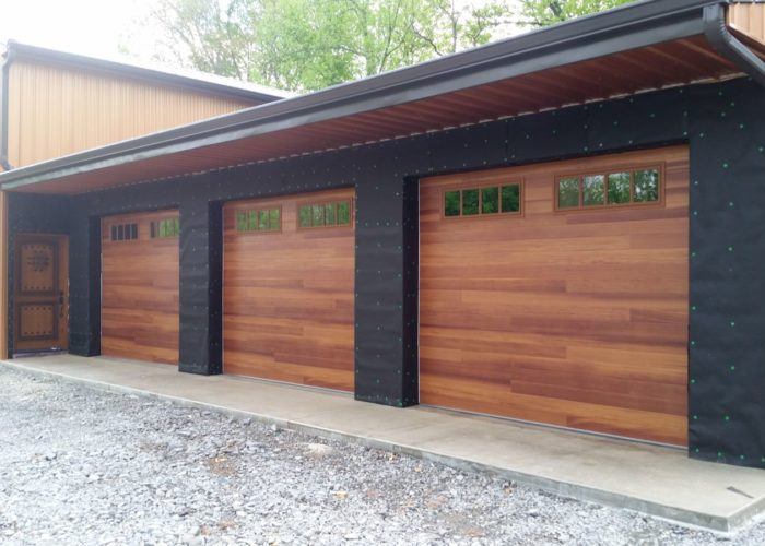Wood Tone Garage Door  Barton Overhead Door Inc