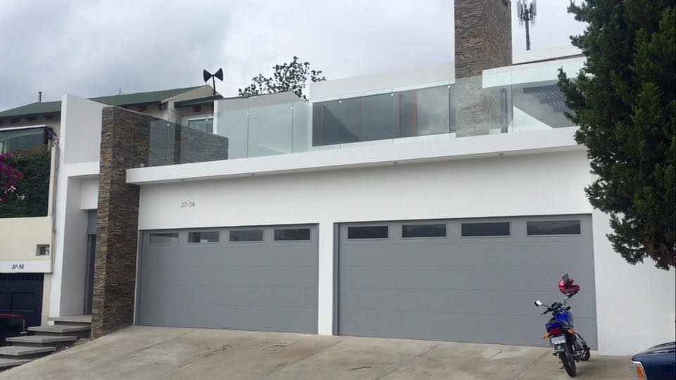 Flush Panel Garage Door  Barton Overhead Door Inc