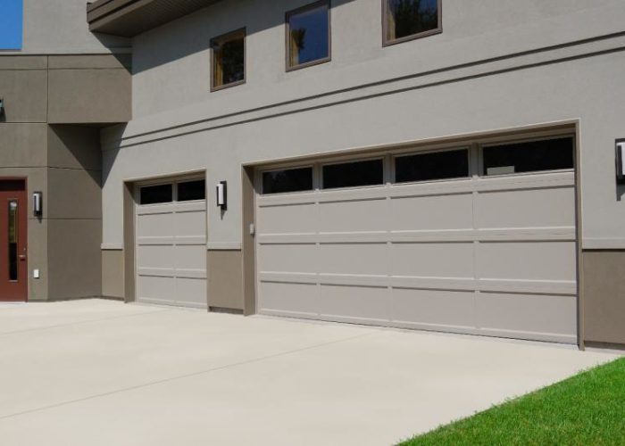 Recessed Panel Garage Door  Barton Overhead Door Inc