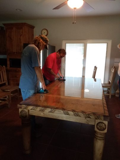 Table Top Installation