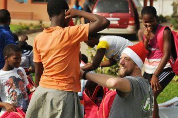 Mikołaje w Afryce