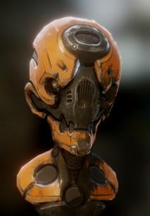 Robot 3d art