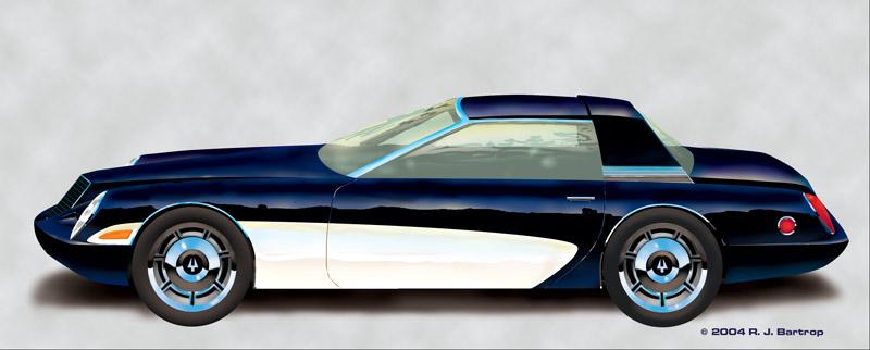 The Art of Richard Bartrop  2004 Studebaker Hawk GT
