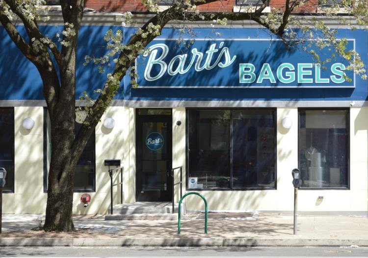 Bart's Bagels store front