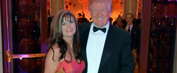 Donna and Donald Trump