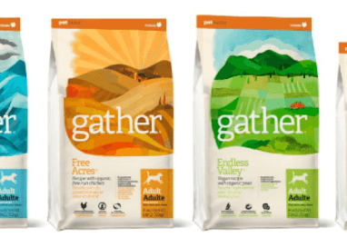 New food from Petcurean dog food includes a vegan option