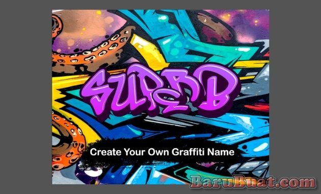 Graffiti Name Art Creator