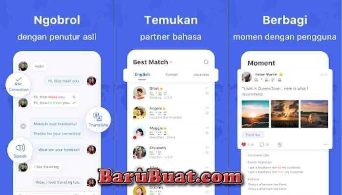 8+ Aplikasi Chat Dengan Bule untuk Belajar Bahasa Inggris