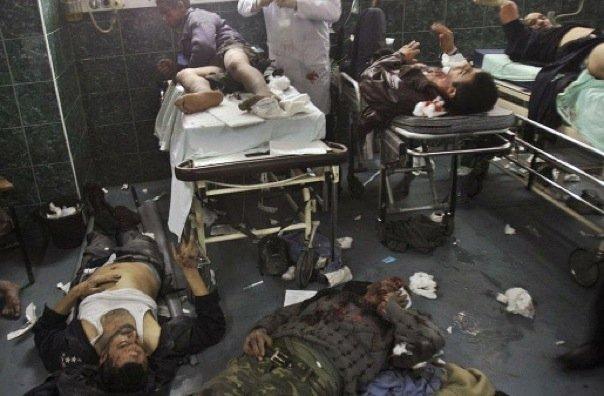 Gaza _le corsie degli ospedali_