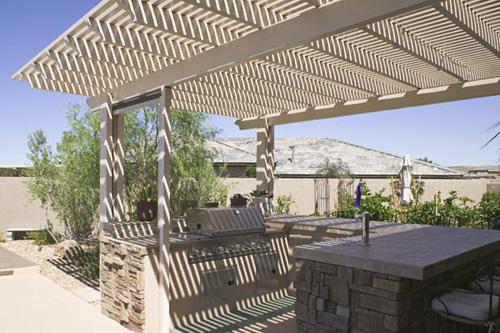 pergolas arbors aluminum patio covers