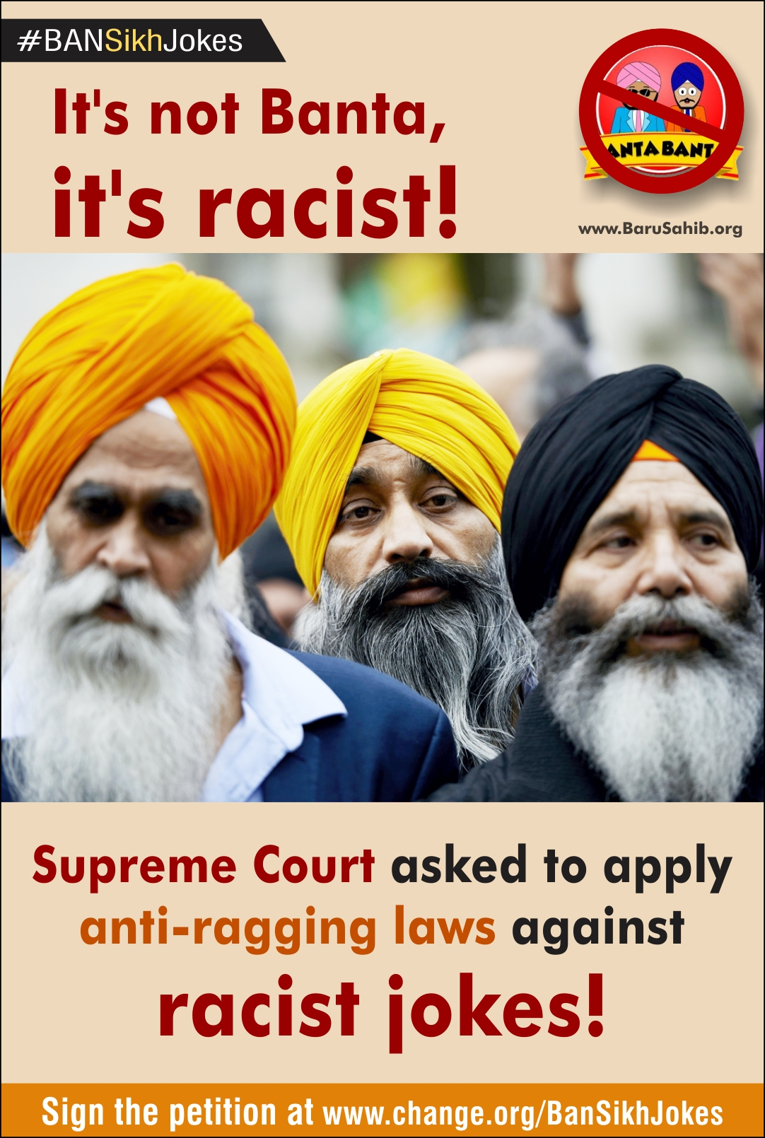 Its Not Banta Its Racist Supreme Court Asked To Apply