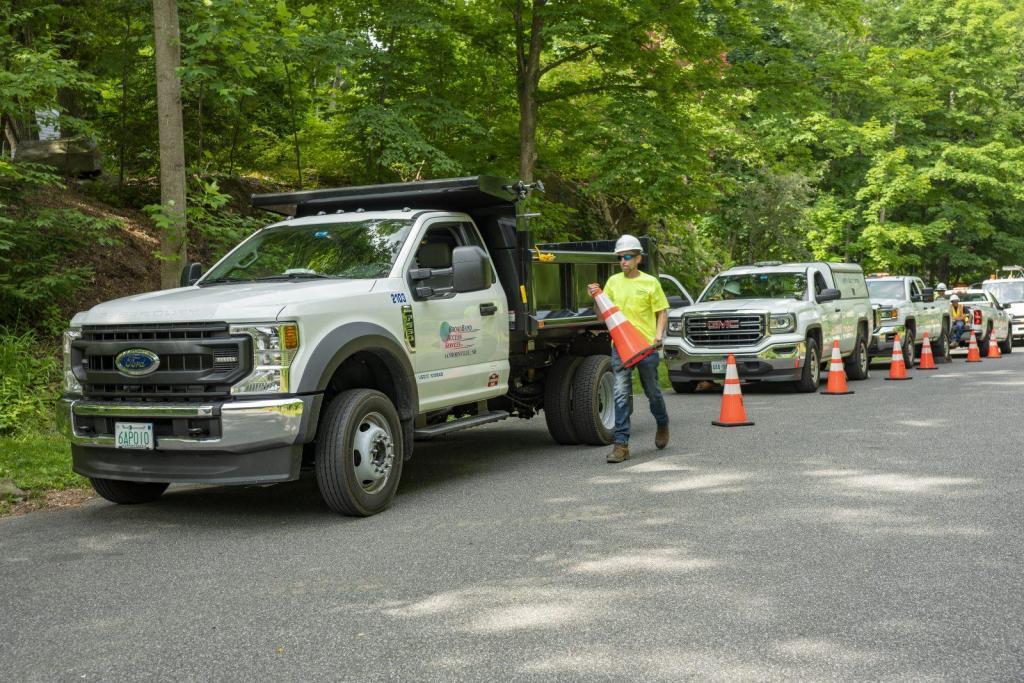 Construction Safety Traffic Cones Contractor BAS