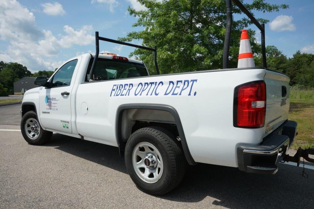 Fiber Optic Department Vehicle Truck Fleet