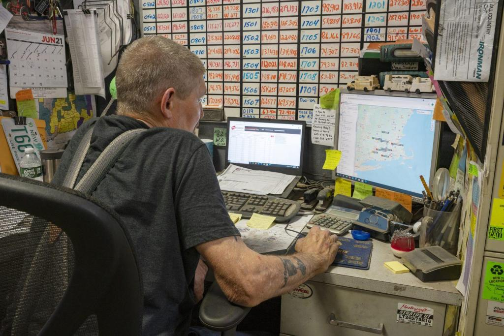 John Dulac Fleet Supervisor Mechanic GPS Tracking Vehicle Services