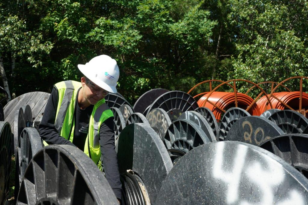 New Hampshire Materials Management Reels Inventory Control Coax